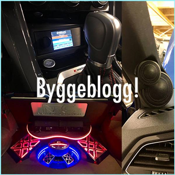 Bygge blogg Helix bilstereo VW T-Roc